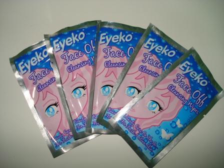 Lenços Removedores de Maquiagem Eyeko