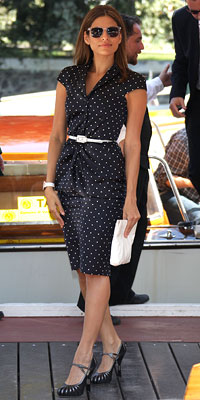 Look of the day: Eva Mendes