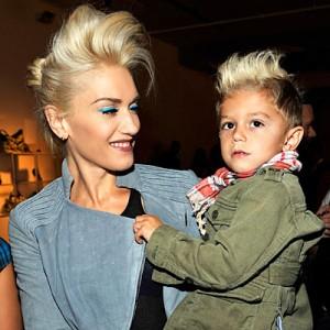 Gwen Stefani e seu filho Kingston