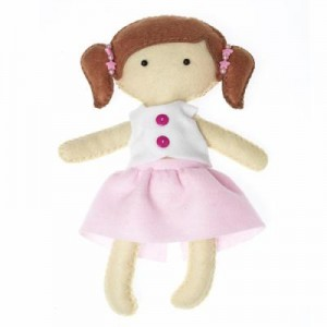 Felt Craft Dolly – Molly