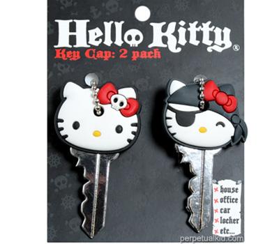 HELLO KITTY PIRATE & SKULL KEY CAPS