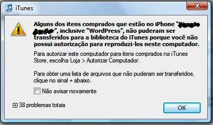 iPhone x iTunes