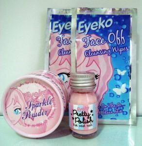 Sorteio de kit Eyeko