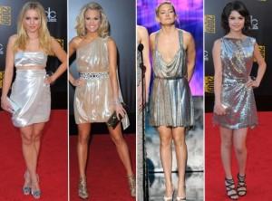 Vestidos Metalizados