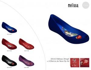 Melissa Ultragirl + A Branca de Neve