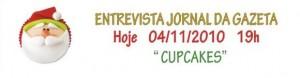 Entrevista com Silvia Carlos às 19h00 no Jornal da Gazeta