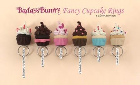 Fancy Cupcake Rings