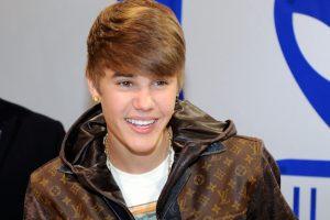 Que jaqueta é essa Justin Bieber?