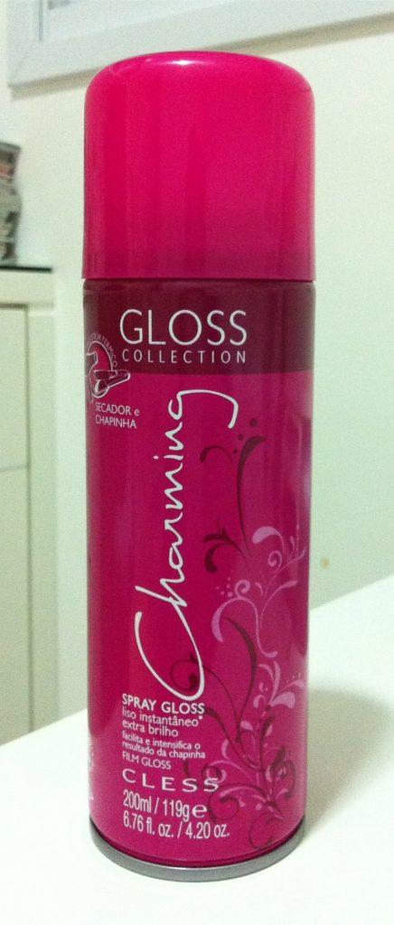 Spray Charming Gloss Liso Instantâneo