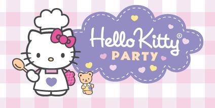 Hello Kitty Party nas bancas