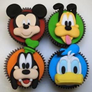Curso de Cupcakes Silvia Carlos: Personagens da Disney