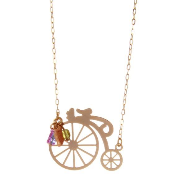 Colar Bicicleta Vintage