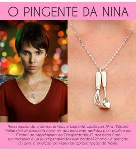Pingente da Nina na Maria Balsanuff Store