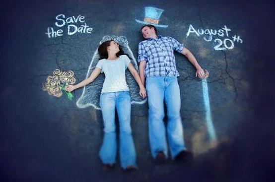 Save the Date no Asfalto