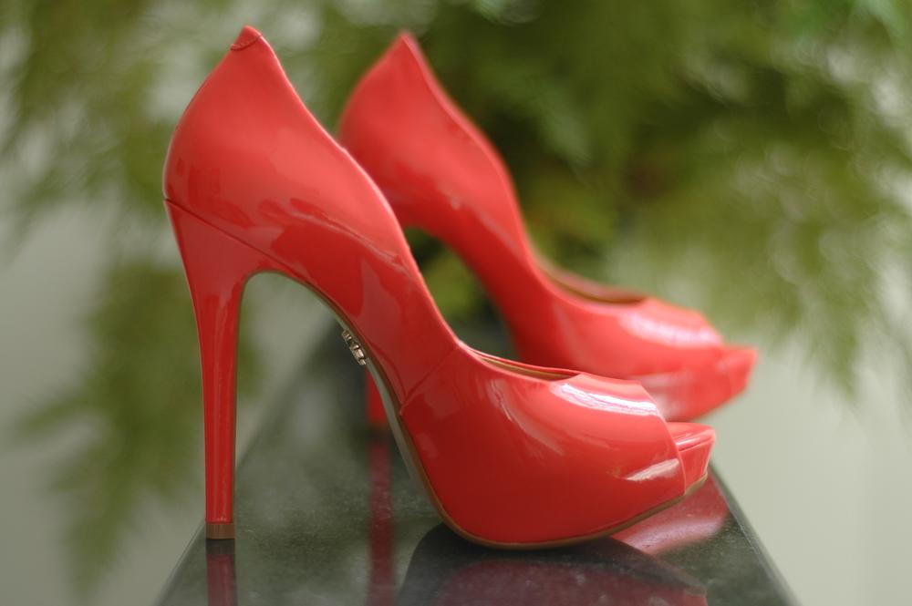 O Sapato Coral da Grace Oda