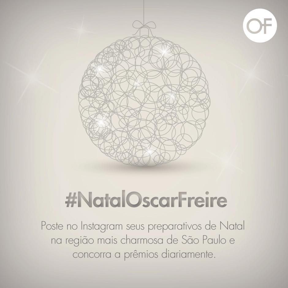#NatalOscarFreire