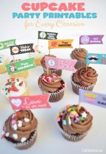 Bandeirinhas para decorar seus Cupcakes