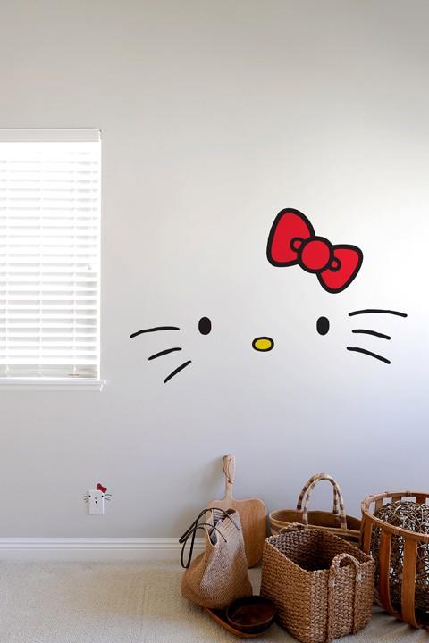 Adesivo de Parede da Hello Kitty