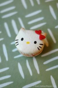 Macarons da Hello Kitty