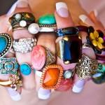 Como combinar anéis