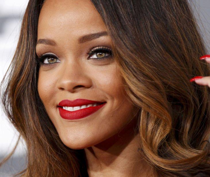 Um camaleão chamado Rihanna