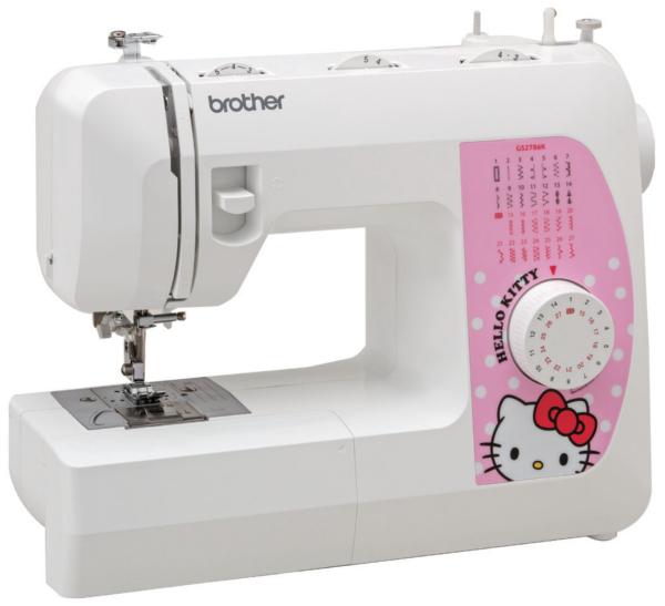 Costurando com a Hello Kitty
