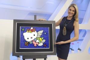Romero Britto, Ana Hickmann e Hello Kitty unidos em prol da Fundação Dr. Rubem Cunha