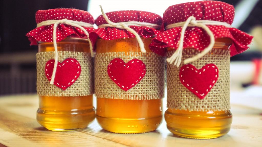 Potinhos de mel para presentear