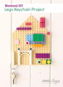 DIY: porta-chaves de Lego