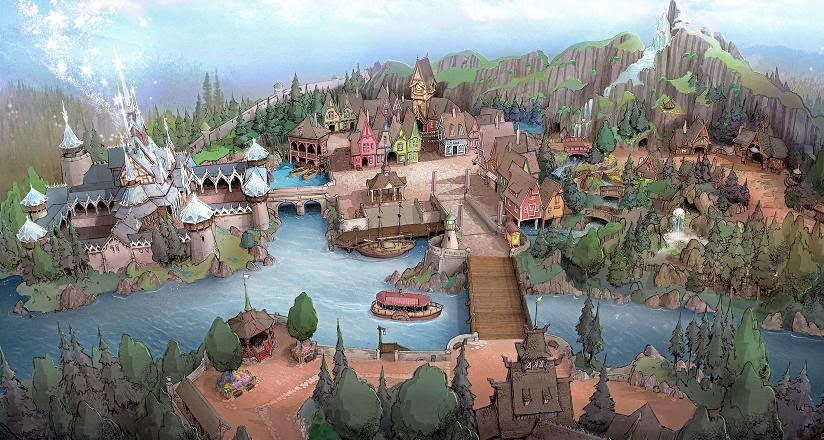 """Tóquio Disney Resort terá uma área dedicada à """"A Bela e A Fera"""""""
