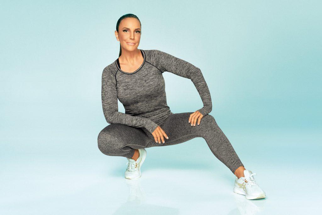 Linha Fitness Plié apresenta novidades na coleção que conta com Ivete Sangalo como estrela da campanha