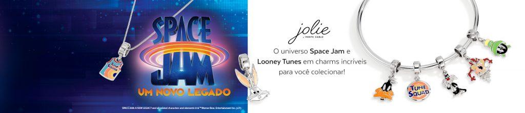 Jolie by Monte Carlo lança coleção de jóias inspiradas no filme Space Jam
